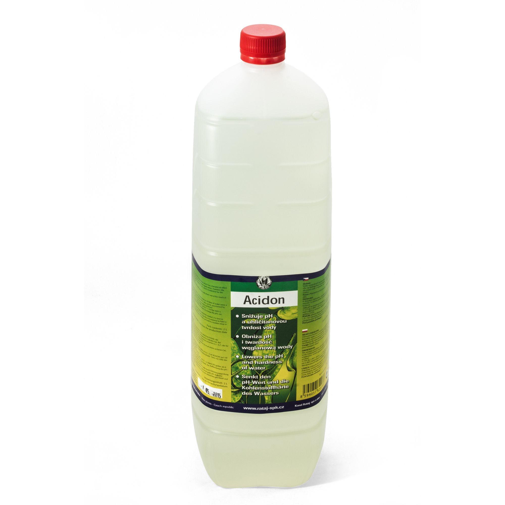 Preparat Rataj ACIDON [uzupełnienie 2000ml] - obniża pH wody