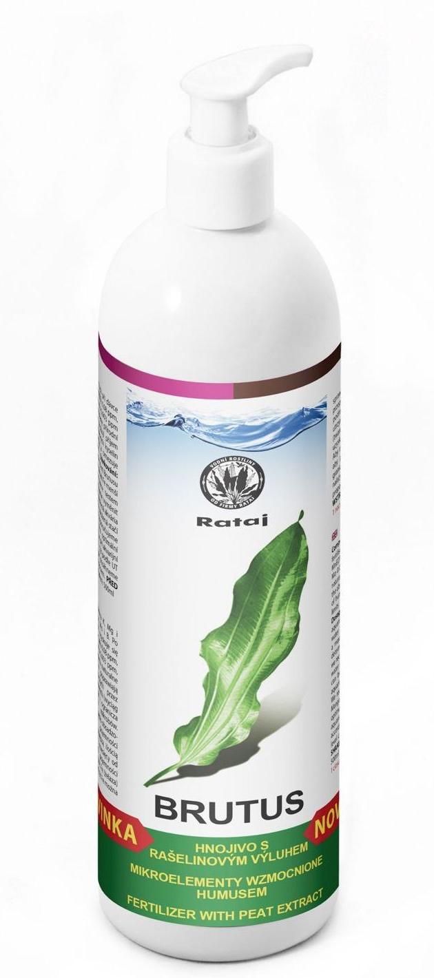Nawóz Rataj BRUTUS [500ml] - nawóz mikroelementowy z humusem