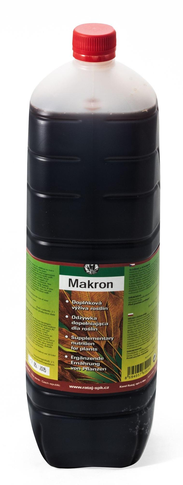 Nawóz Rataj MAKRON [uzupełnienie 2000ml - nawóz makroelementowy
