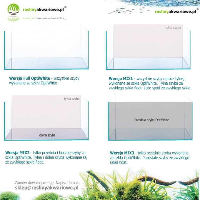 szkło opti white - klejenie akwarium