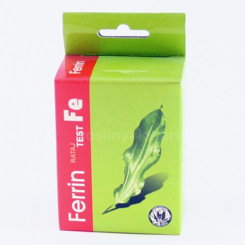 Test Rataj FERRIN - test na żelazo (Fe)