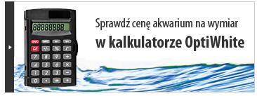 Oblicz cenę akwarium na indywidualne zamówienie