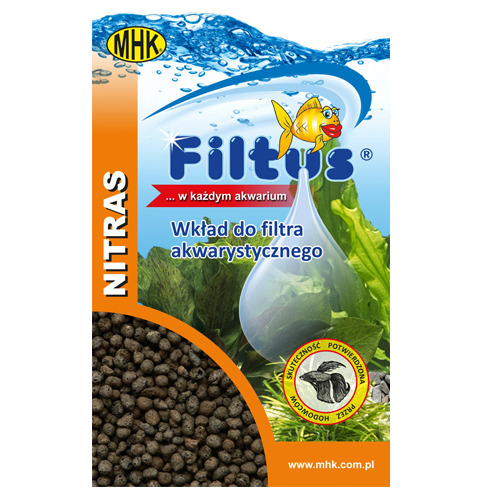 .Filtus NITRAS [500ml] - porowata glinka wypalana