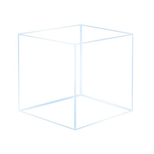 Akwarium OptiWhite 20x20x25 (4mm) 10l