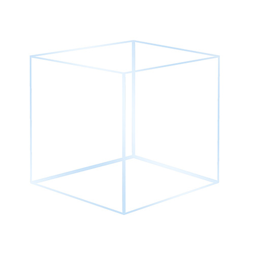 Akwarium OptiWhite 20x20x25 (4mm) 10l - tylko wysyłka