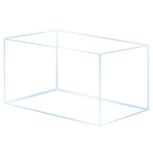 Akwarium OptiWhite 40x40x40 (6mm) 64l - tylko wysyłka
