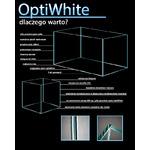 Akwarium OptiWhite 60x30x35 (6mm) 63l