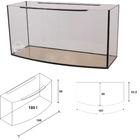 Akwarium Wromak 100x40x50 [180l] - profil