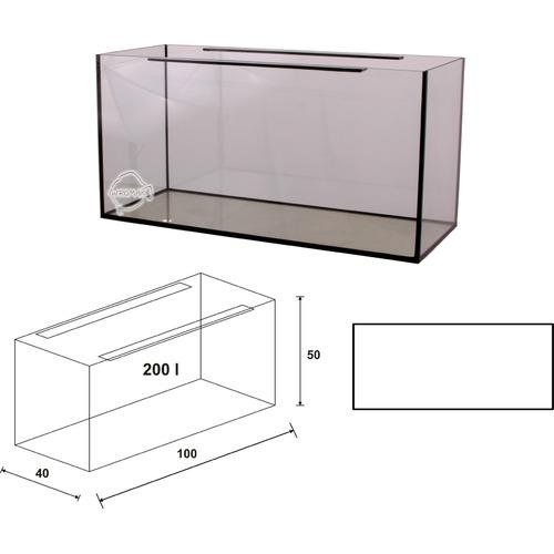 Akwarium Wromak 100x40x50 [200l] - proste - odbiór osobisty