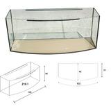 Akwarium Wromak 120x40x50 [216l] - profil