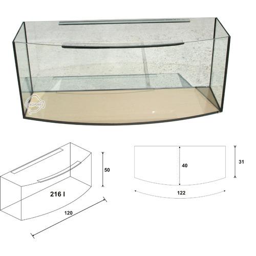 Akwarium Wromak 120x40x50 [216l] - profil - odbiór osobisty