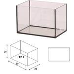 Akwarium Wromak 30x20x20cm [12l] - proste