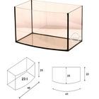 Akwarium Wromak 40x25x25cm [23l] - profil