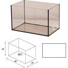 Akwarium Wromak 40x25x25cm [25l] - proste