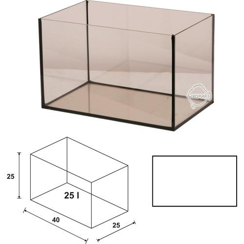Akwarium Wromak 40x25x25cm [25l] - proste - odbiór osobisty