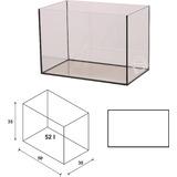 Akwarium Wromak 50x30x35cm [52l] - proste