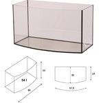Akwarium Wromak 60x30x33 [54l] - profil