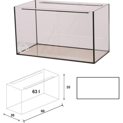 Akwarium Wromak 60x30x35 [63l] - proste - odbiór osobisty