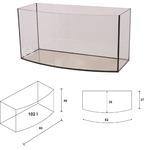 Akwarium Wromak 80x35x40 [102l] - profilowane - odbiór osobisty