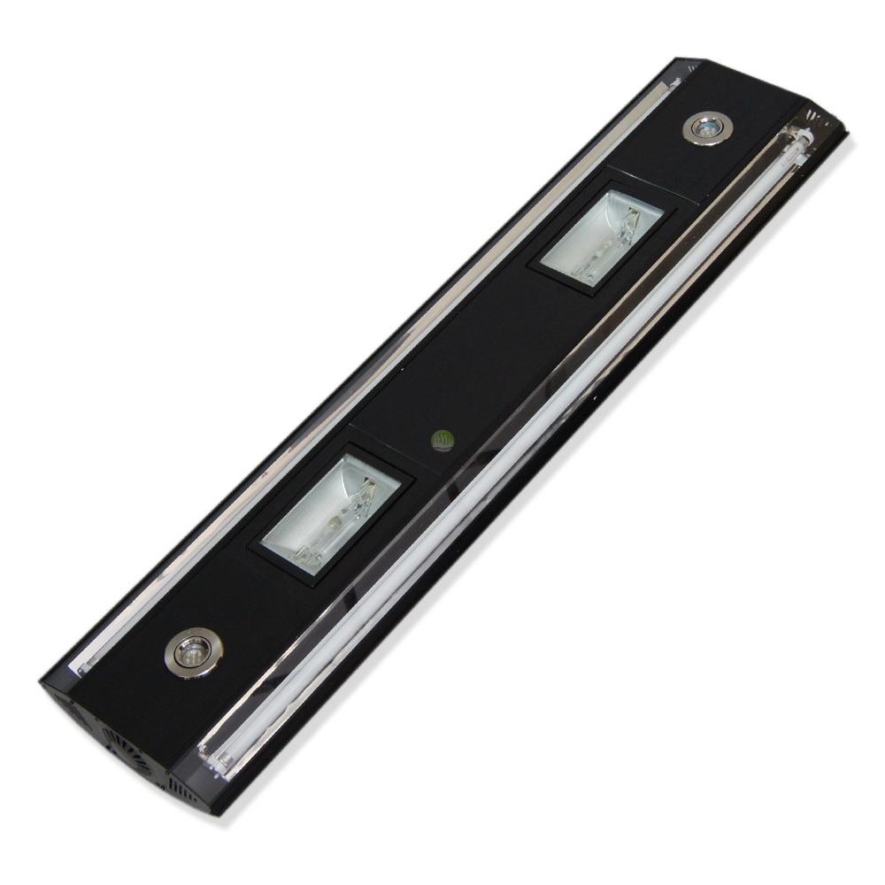 Aluminiowa oprawa [HQI 2x150W] + [2x54W T5] + LED + Wentylatory - z ekspozycji