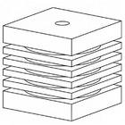 Aquael Wkład gąbkowy TURBO - 1000/1500/2000 (2 szt.)