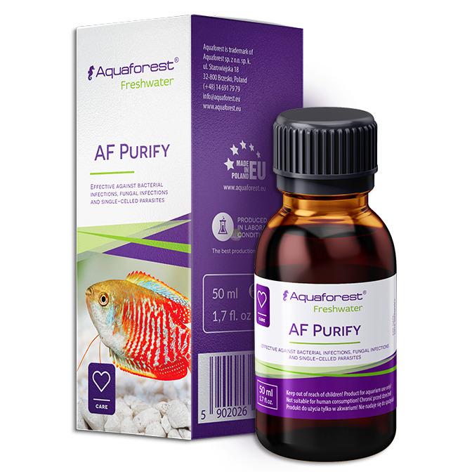 Aquaforest AF Purify [50ml] - wspiera odporność ryb