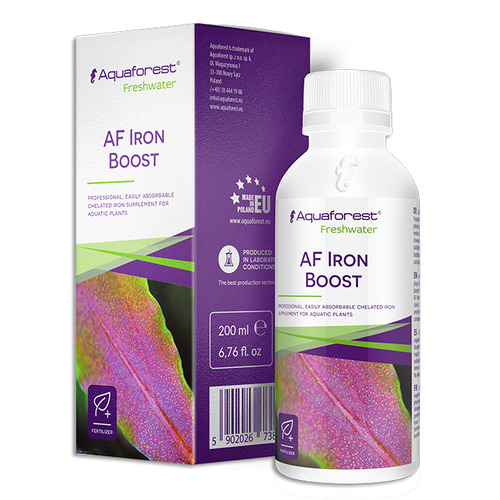 AquaForest Iron Boost [200ml] - nawóz żelazowy