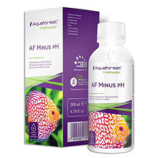 AquaForest Minus pH [200ml] - obniża pH wody