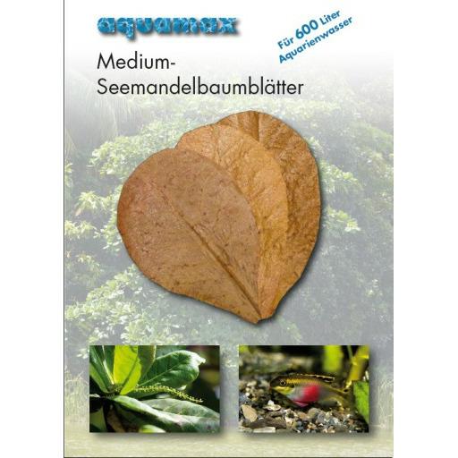 AQUAMAX Medium-Seemandelbaumblatter - Ketapang Liście MEDIUM [10szt]