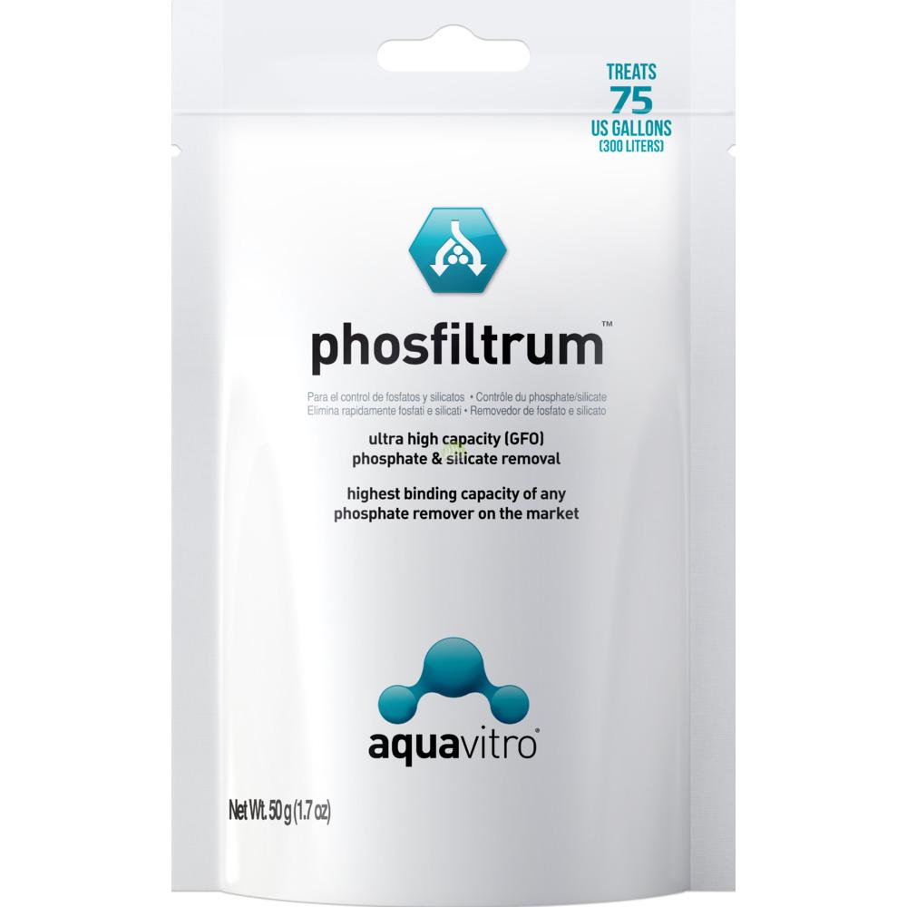 Aquavitro Phosfiltrum [50g]  - usuwa fosforany i krzemiany