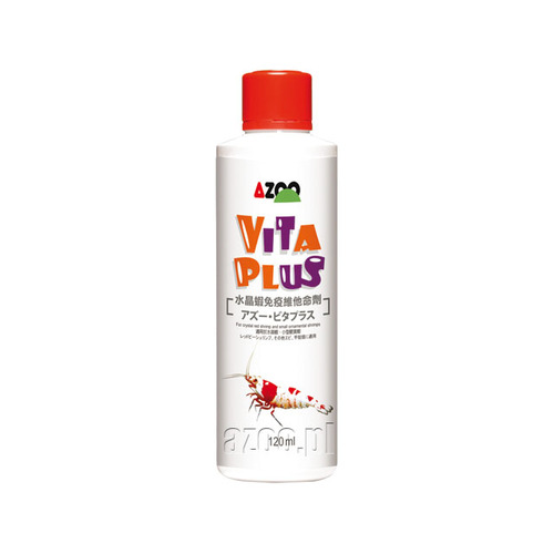 AZOO Vita Plus [120ml] - witaminy dla krewetek Crystal RED