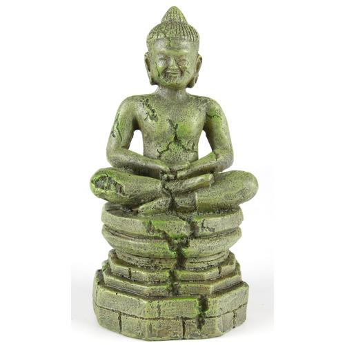 BAYON-BUDDHA 1 - budda z bajon [9x8,5x17,5cm] - kolor jasny