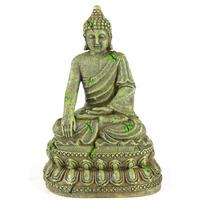 BAYON-BUDDHA 3 - budda z bajon [11x9x15,5cm] - kolor ciemny