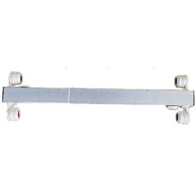 Belka aluminiowa Diversa 2x14W T8 - do pokrywy 50cm