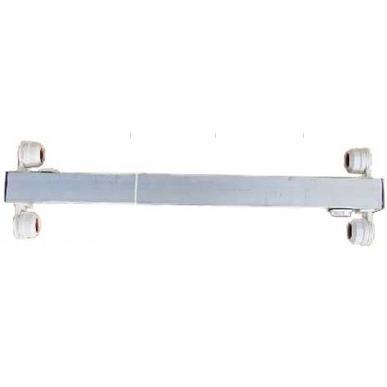 Belka aluminiowa Diversa 2x18W T8 - do pokrywy 80cm