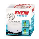 Biały krążek filtracyjny do filtrów Eheim Aquaball 2208/2210/2212 - 3 sztuki