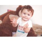 Body dziecięce BORN TO BE AN AQUARIST - białe