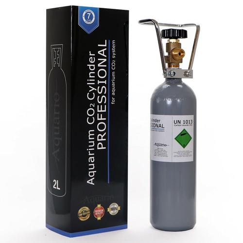 Butla CO2 2l [47cm] - BLUE nowa z zaworem (pełna)