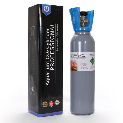 Butla CO2 5l [57cm] - BLUE nowa z zaworem