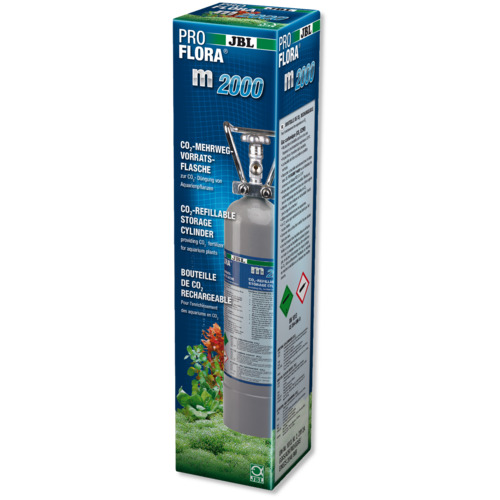 Butla CO2 JBL ProFlora m2000 SILVER [2kg / 4l]