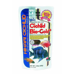 Cichlid bio-gold medium 250g 750ml Hikari