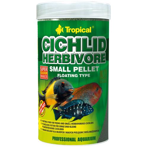 Cichlid herbivore small pellet [250ml] (60854)