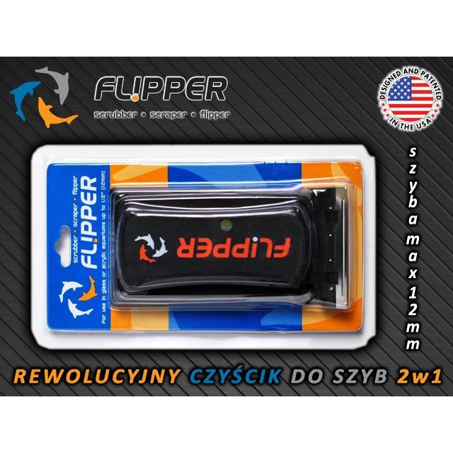 Czyścik magnetyczny Flipper STANDARD (szyba max. 12mm)