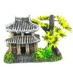 Dekoracja ASIAN HOUSE - dom azjatycki 14x9x10cm