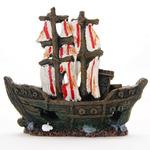 Dekoracja Yusee - statek piratów (15x5x13cm)