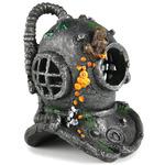 DIVER HELMET [17cm] - hełm nurka + kamień napowietrzający