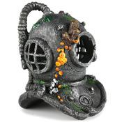 DIVER HELMET - Hełm nurka 17cm + kamień napowietrzający