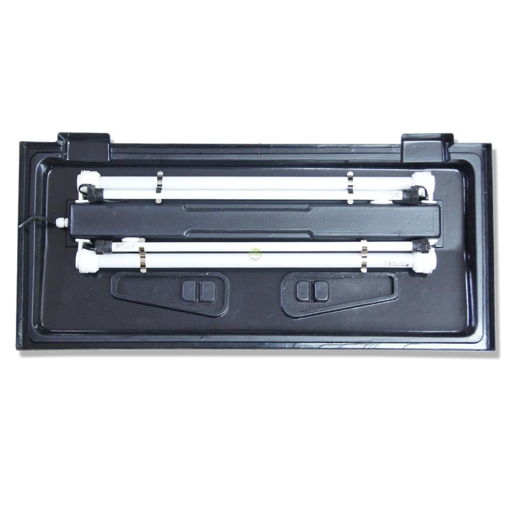 Dodatkowe oświetlenie do pokryw 120 i 150/160cm (2x54W)