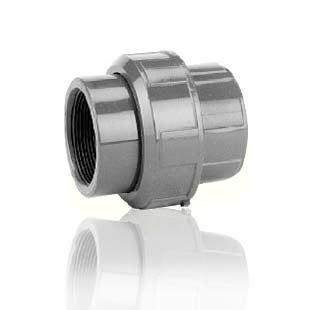 Dwuzłączka PCV [Φ 25mm] z uszczelką