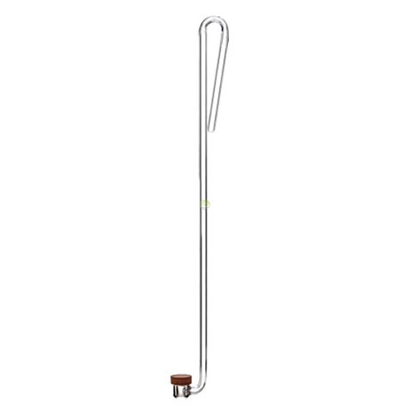 Dyfuzor CO2 NEO Clip Medium [28cm/17mm] - akrylowy z kolankiem
